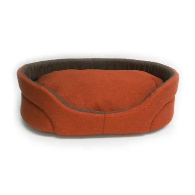 Ehgià Cuccia Arancione con Cuscino
