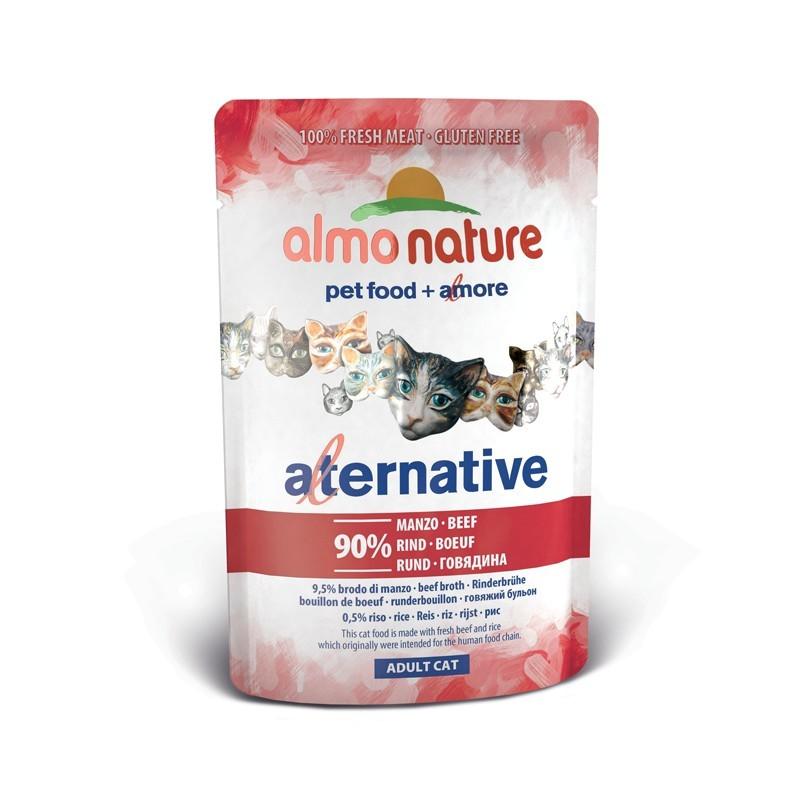 Almo Nature Gatto Alternative Manzo per Gatti 55gr