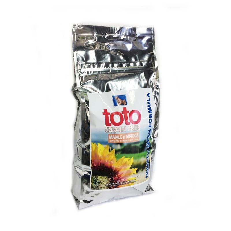 Toto Holistic Grain Free Maiale e Tapioca per Cani