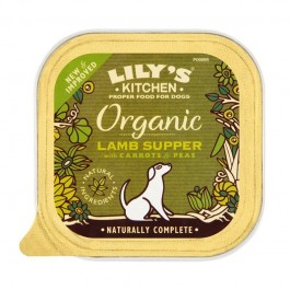 Lily's Kitchen all'Agnello Vaschetta Bio per Cani 150gr