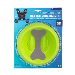 LeoPet Ciotola Igiene Orale Verde