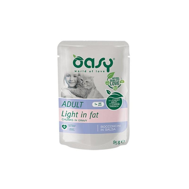 Oasy Bocconcini in Salsa Light per Gatti 85gr