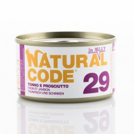 Natural Code Jelly Pollo e Tacchino per Gatto