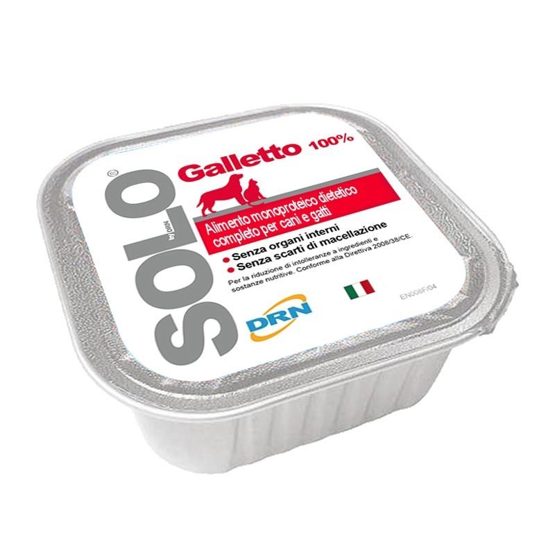 DRN Solo Galletto Umido per Cani e Gatti