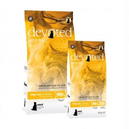 Devoted Free Run Chicken per Gatto
