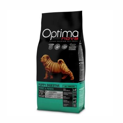 Optimanova Puppy Digestive Coniglio