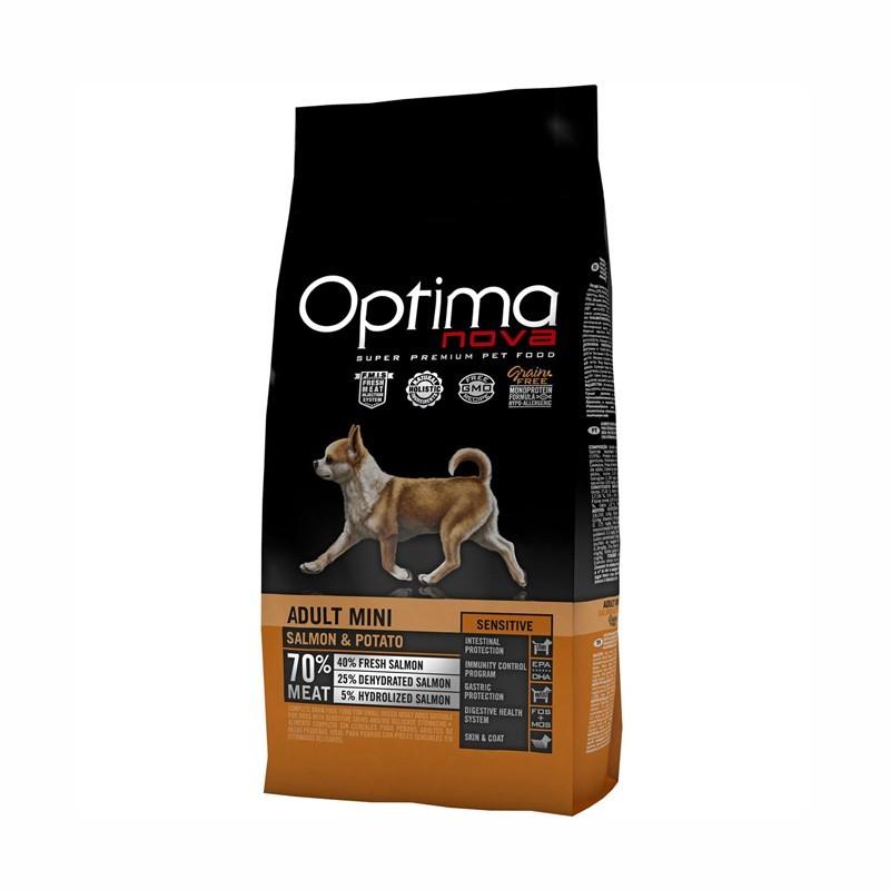 Optimanova Mini Grain Free Salmone