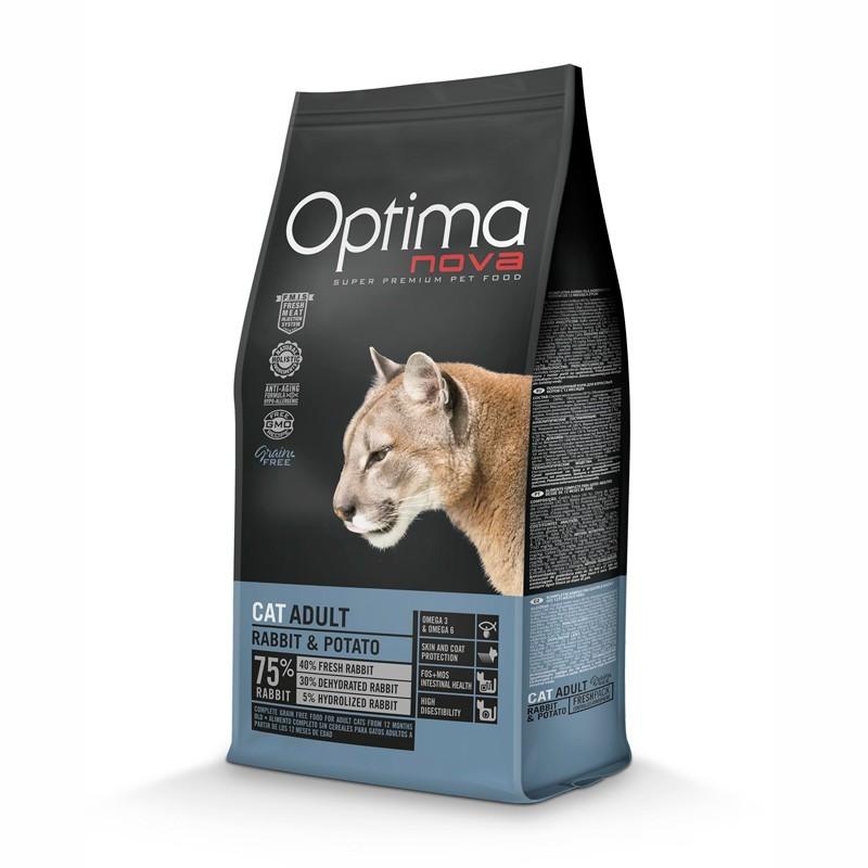Optimanova Gatto Grain Free Coniglio