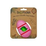 BecoPocket Portasacchetti Eco Rosa