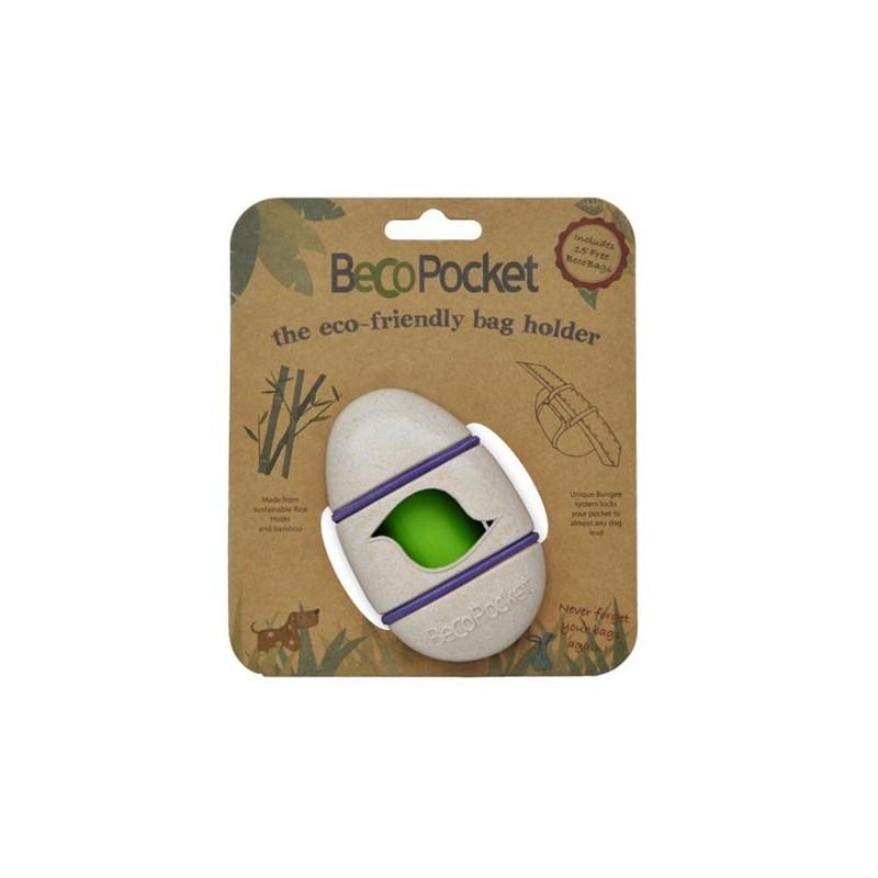 BecoPocket Portasacchetti Eco Panna