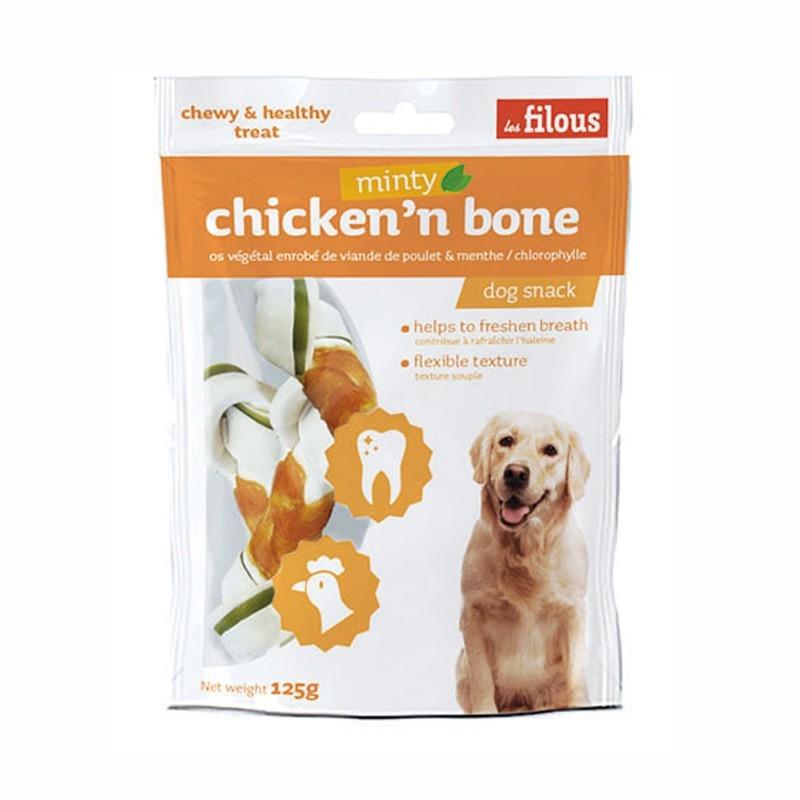 Les Filous Snack Osso al Pollo Medium