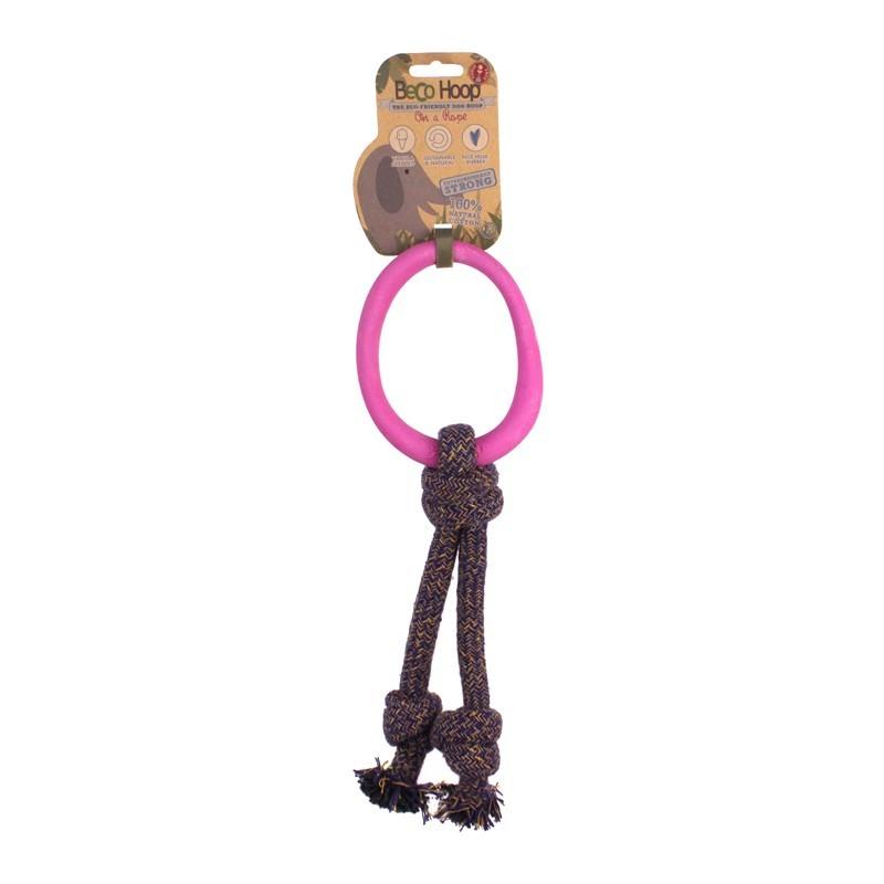 Beco Hoop Gioco Anello con Corda On a Rope Rosa