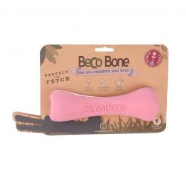 Becobone Gioco-Osso Rosa Large