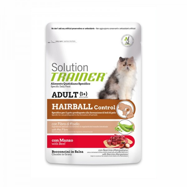 Trainer Solution Hairball al Manzo in Busta