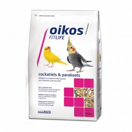Oikos Fitlife Cockatiels & Parakeets