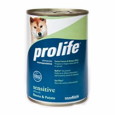 Prolife Umido per Cani Renna e Patate