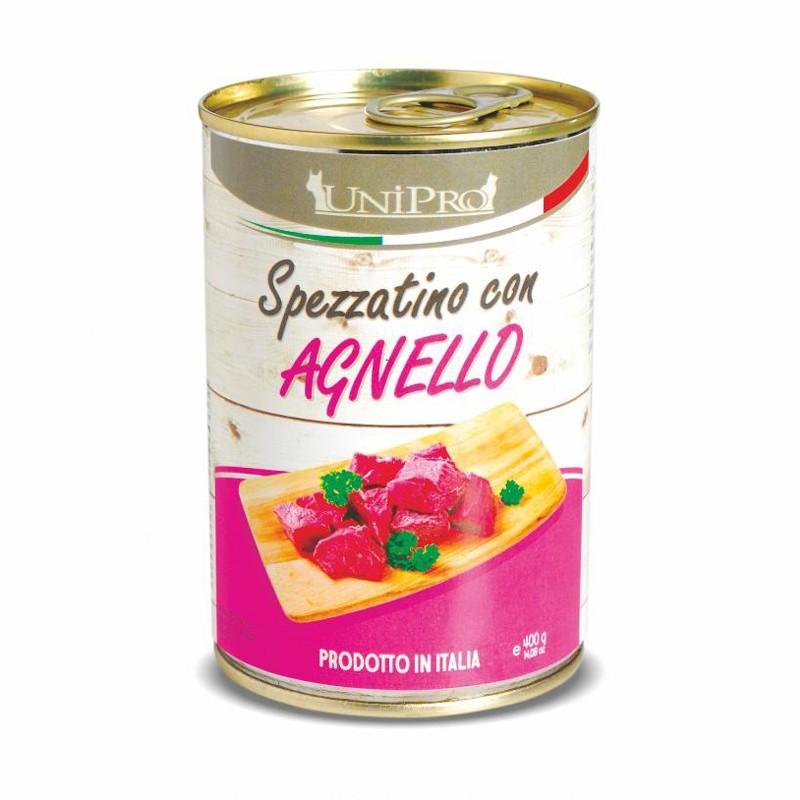 UNIPRO SPEZZATINO CON AGNELLO 400 gr