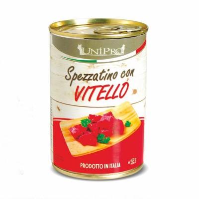 UNIPRO SPEZZATINO CON VITELLO 400 gr