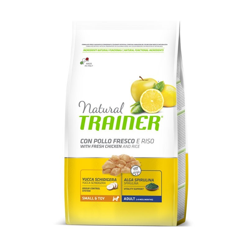 Trainer Natural Small & Toy Adult al Pollo
