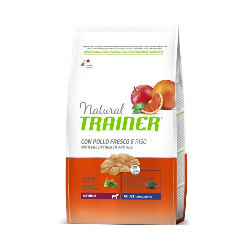 Trainer Natural Adult Medium Pollo