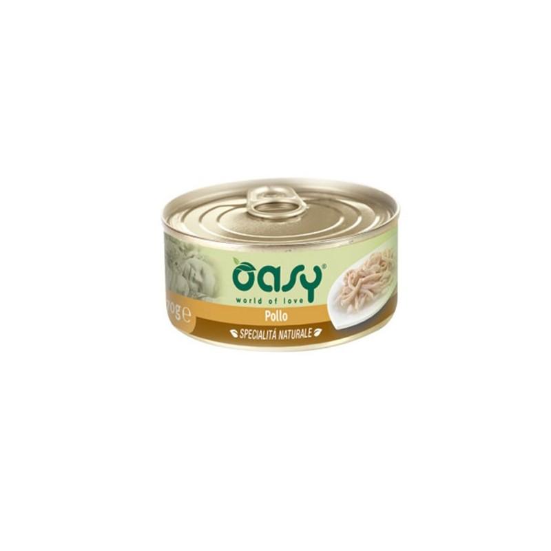 Oasy Natural Adult Pollo Umido per Gatti 70gr