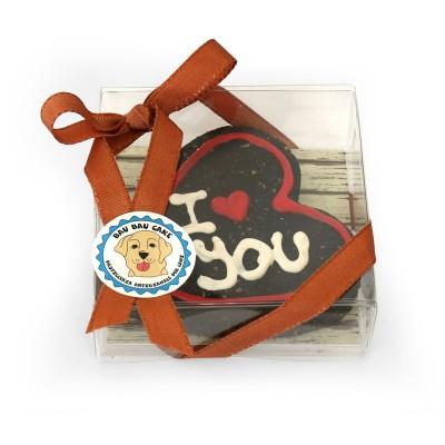 Bau Bau Cake Biscotto Cuore I Love You