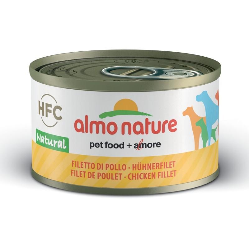 Almo Nature HFC con Filetto di Pollo per Cani
