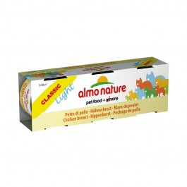 Almo Nature Light al Pollo per Gatti 3x50gr