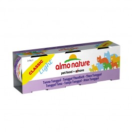 Almo Nature Light al Tonno Tonggol per Gatti 3x50gr