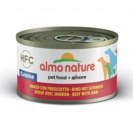 Almo Nature HFC con Manzo e Prosciutto per Cani 95gr