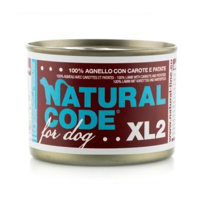 Natural Code XL Agnello, Carote e Patate per Cane