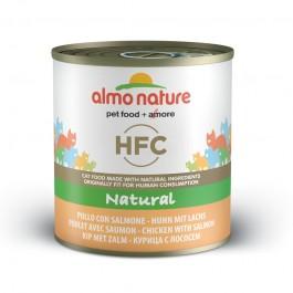 Almo Nature HFC al Pollo e Salmone per Gatto 280gr