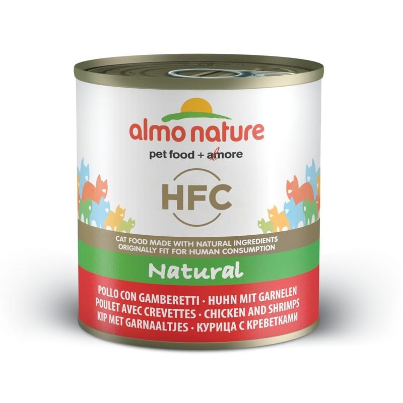 Almo Nature HFC al Pollo e Gamberetti per Gatto 280gr