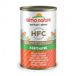 Almo Nature HFC con Pollo e Zucca per Gatto 140gr