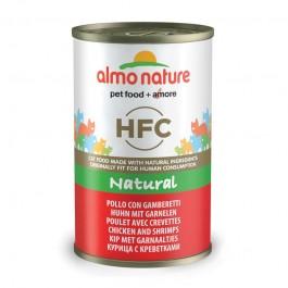 Almo Nature HFC con Pollo e Gamberetti per Gatto 140gr