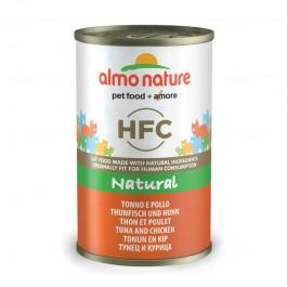 Almo Nature HFC con Tonno e Pollo per Gatto 140gr