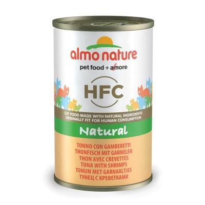Almo Nature HFC con Tonno e Gamberetti per Gatto 140gr