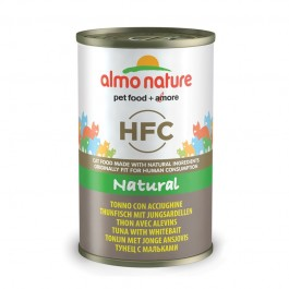 Almo Nature HFC con Tonno e Acciughine per Gatto 140gr