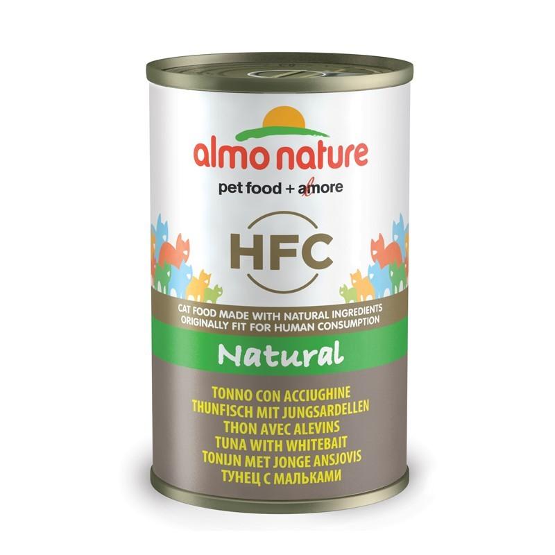 Almo Nature HFC con Tonno e Acciughine per Gatto 140gr