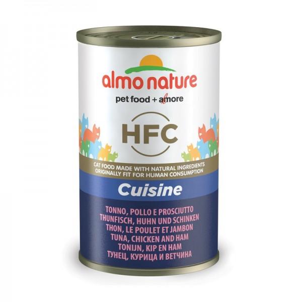 Almo Nature HFC con Tonno, Pollo e Prosciutto per Gatto 140gr