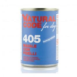 Natural Code Maiale con Piselli per Cane