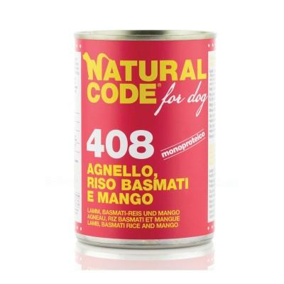 Natural Code Agnello, Riso Basmati e Mango per Cane