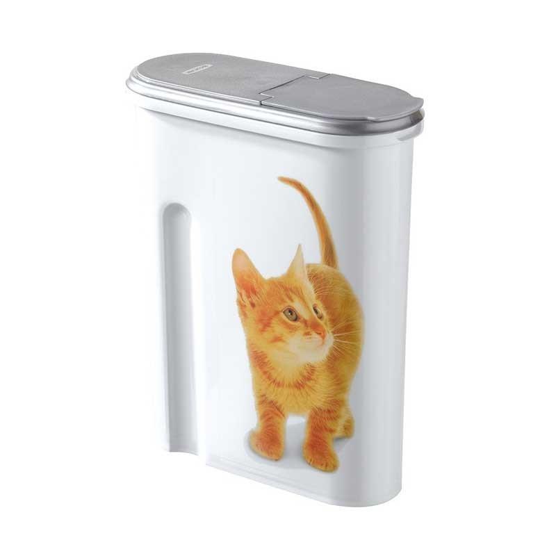 Curver porta crocchette per gatti robinson pet shop - Porta per gatti ...