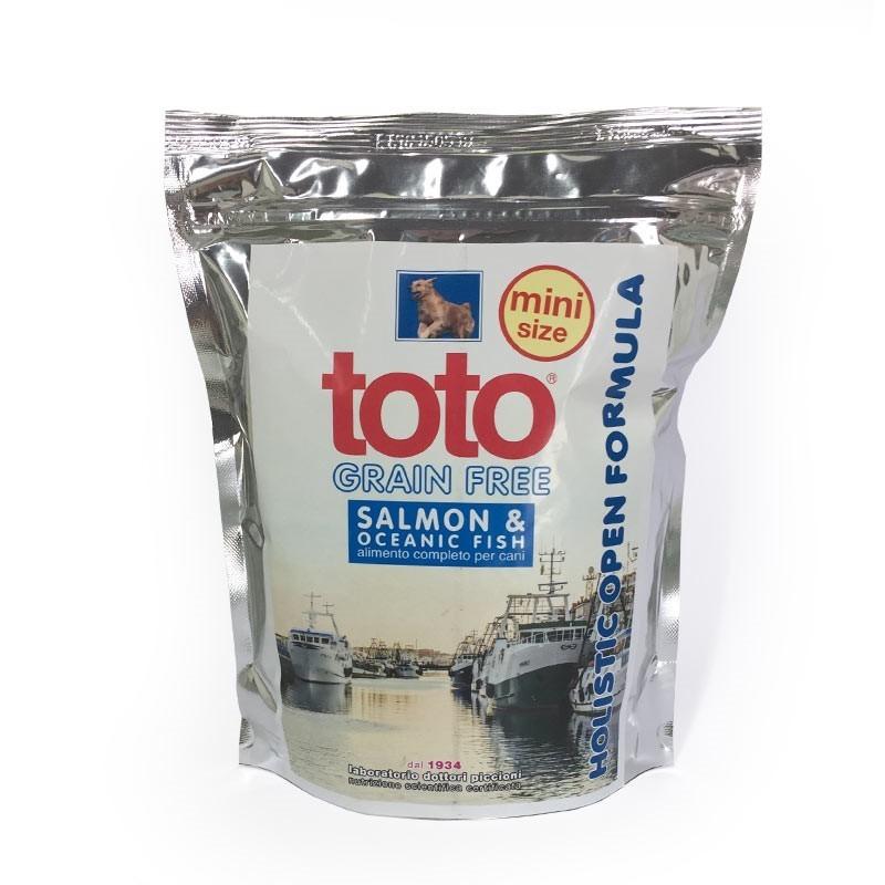 Toto Holistic Grain Free Mini Salmone e Pesce per Cani