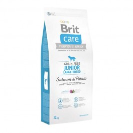 Brit Care Junior Large Grain Free Salmone e Patate