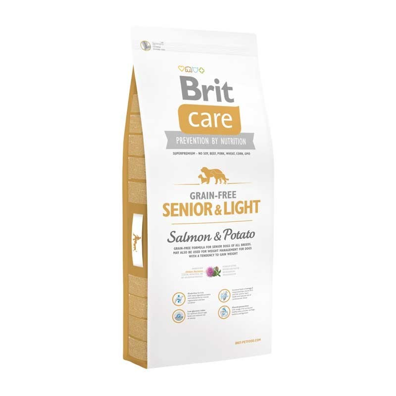 Brit Care Senior & Light Grain Free Salmone e Patate