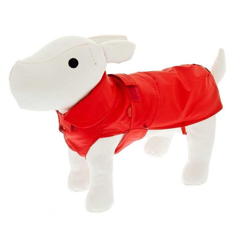 Ferribiella Impermeabile Classic Rosso per Cani