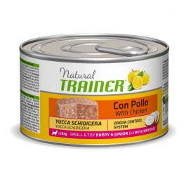 Trainer Natural Small & Toy Puppy & Junior al Pollo per Cani 150gr
