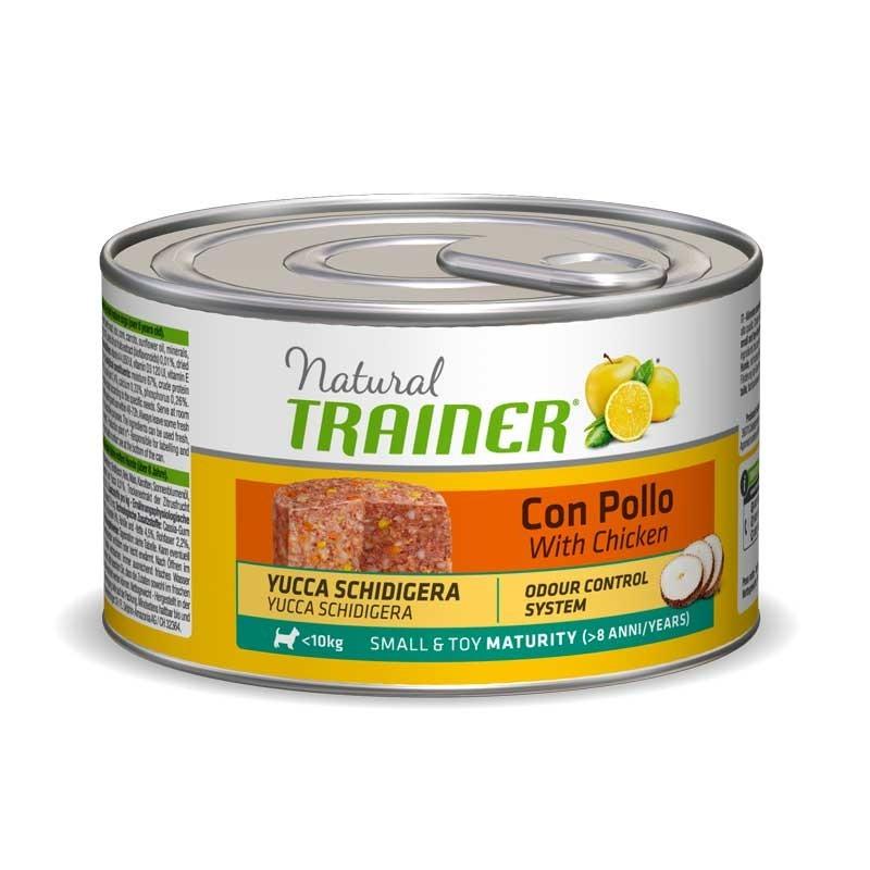 Trainer Natural Small & Toy Maturity al Pollo per Cani 150gr