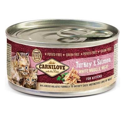 Carnilove Umido Kitten Tacchino e Salmone